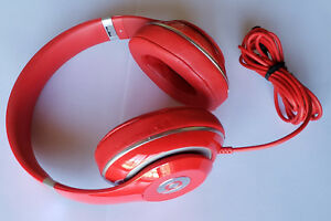 Red Beats Studio 2 0 Wired Over Ear Headphones Store Demo No Audio Sound 848447001163 Ebay