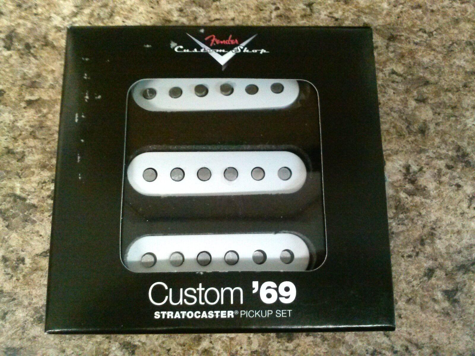 Fender Custom Shop /'69 Strat Pickup Set New!