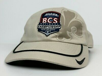 NCAA 2008 Allstate BCS Championship Game LSU vs Ohio State Logo Hat NWOT