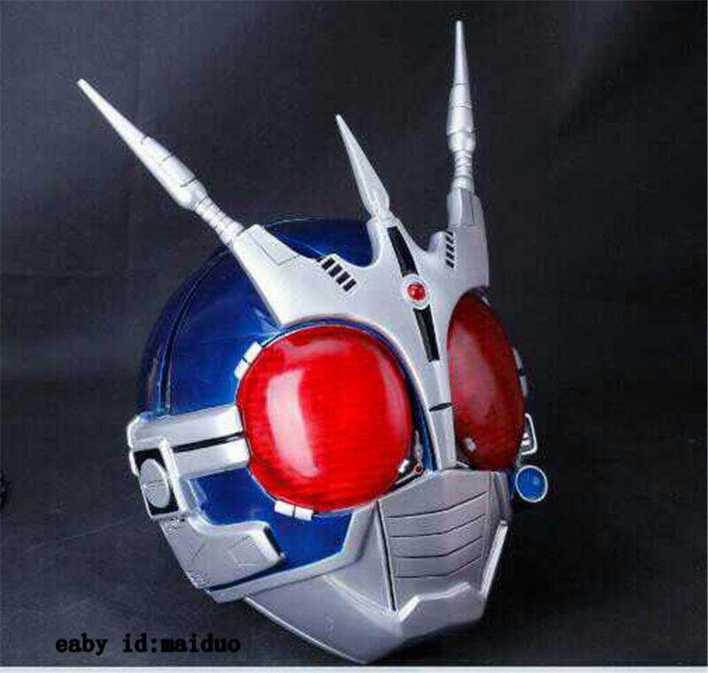 1 1 Kamen Rider Helmet Resin Handmade Wearable LED Cosplay Model Masked Rider