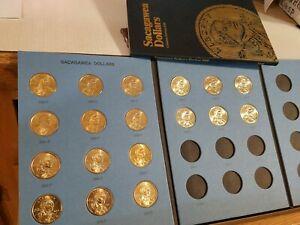 UNC /& Proof 2008 P-D-S  Sacagawea Dollar 3-coin Set