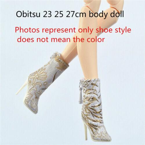 Sherry Shoes for Fashion royalty FR2 PP FR6.0 Ob obitsu 23 25 27cm doll 8-FR2-35