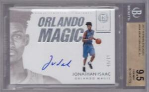 JONATHAN-ISAAC-RC-2017-18-ENCASED-ROOKIE-SCRIPTED-SIGS-AUTO-99-BGS-9-5-10-AU