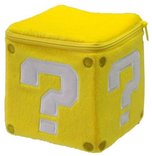 "Sanei Little Buddy Official Super Mario Coin Box 5/"" Plush"