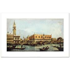 """Canal of San Marco with the Piazza San Marco"""" Fine Art Print by Canaletto"""