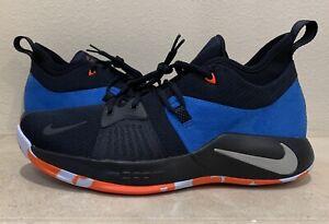 "b8dfcf8c282c7 Details about Nike PG 2 II ""Home Craze"" Dark Obsidian Navy AJ2039-400 Paul  George Sz 11.5"