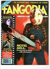 WoW! Fangoria #9 Motel Hell! The Howling! Terror Train! Conan! Thundarr! Rare!