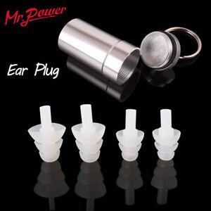 2-Pairs-High-Fidelity-Concert-Rave-Musician-DJ-EarPlugs-Ear-Plug-Protect-Hearing