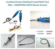Combitool Rotary Multitool Combi Multi Tool 240v Compatible With Electric Dremel