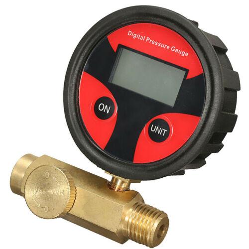 Digital Air Pressure Regulator Gauge Paint Spray Gun Airbrush Gauge Valve
