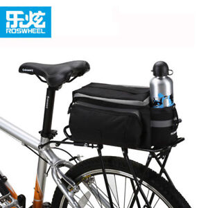 Cycling Bike Bicycle Rear Rack Seat Trunk Saddle Storage Duble Pannier Bag Pack