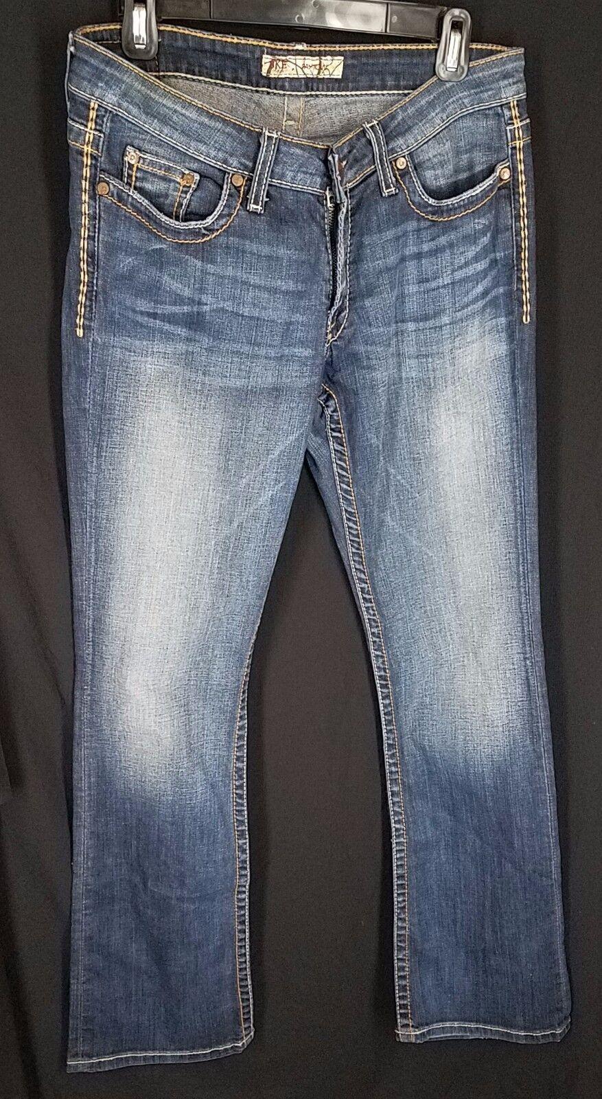 BKE Denim Jeans womens size 28 x 31.5 Payton bluee
