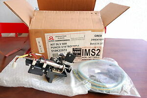 Details About Creo Scitex Kodak Round L 3 16 Punch Dolev 800 Platesetter KIT 510K32972 NEW