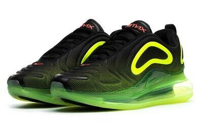 Nike Air Max 720 Men/'s Shoes AO2924-008 Black//Bright Crimson//Volt  sz 8-13