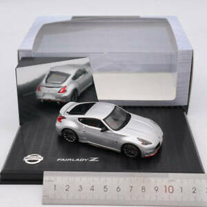 1-43-Kyosho-NISSAN-FAIRLADY-Z-NISMO-Z34-Diecast-Models-Toys-Car-Gift-Silver