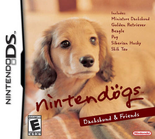 1 of 1 - Nintendogs: Dachshund & Friends - Nintendo DS Game