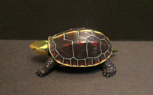 RARE Kaiyodo Furuta Series 5 Yellow Margined Box Turtle Figure