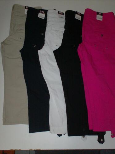 Cotton Lunghezza Hs 3 Stretch Fashion 4 Krempel Capri 7036 Comodo Pants w47OT8w