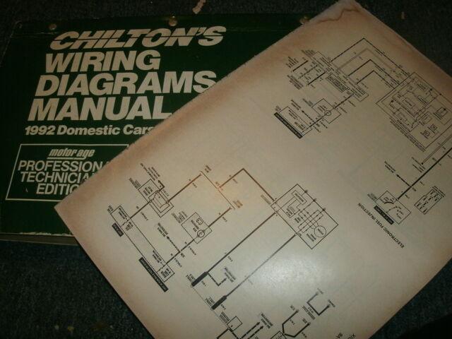 1992 BUICK ROADMASTER WIRING DIAGRAMS SHEETS SET   eBayeBay