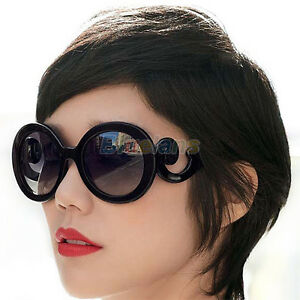 Womens-Ladies-Fashion-Retro-Inspired-Design-Sunglasses-Baroque-Round-Glasses-New