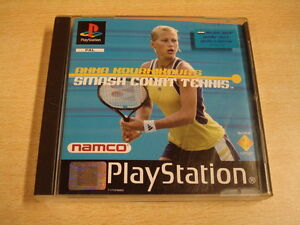 PLAYSTATION-1-GAME-ANNA-KOURNIKOVA-039-S-SMASH-COURT-TENNIS