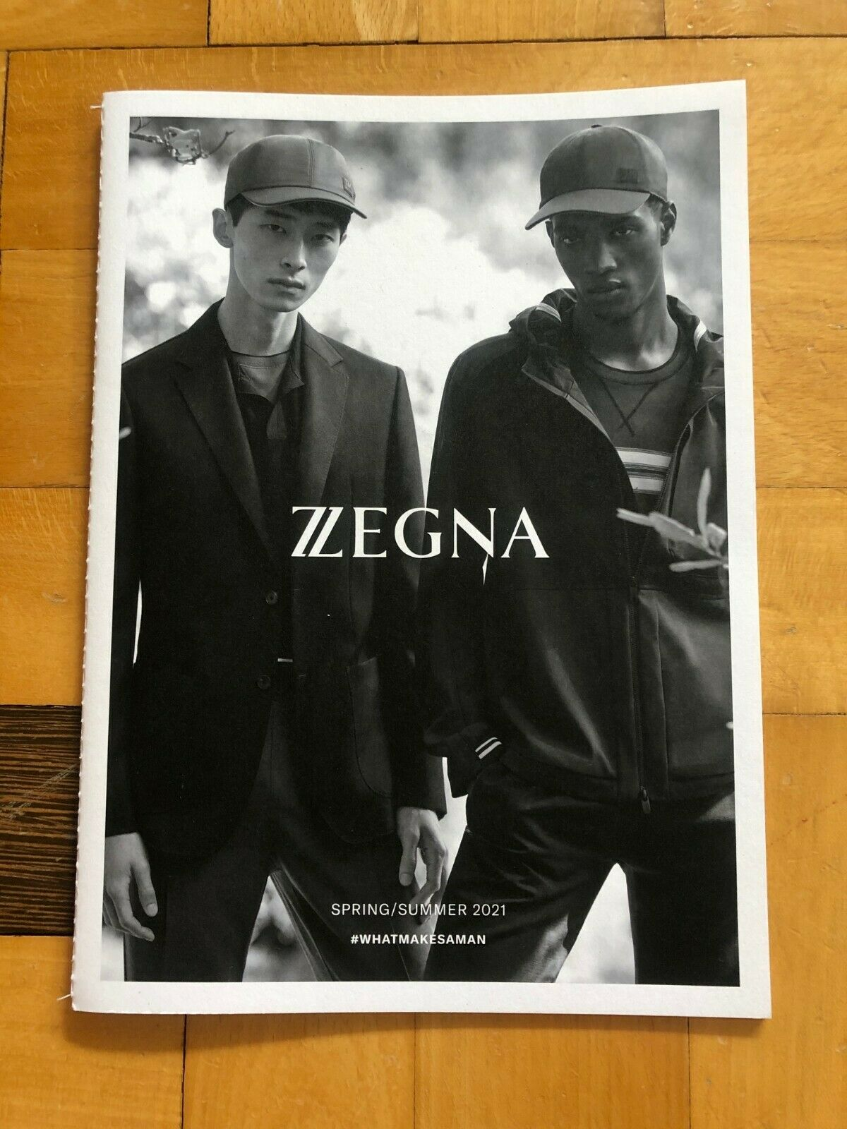 ERMENEGILDO ZEGNA – Katalog Frühling/Sommer 2021, neu, original, ungelesen