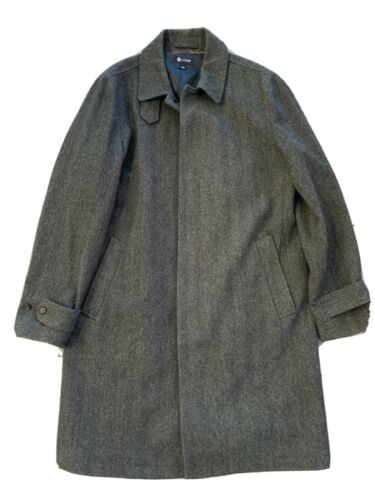 Mint J Crew Westbourne Top coat tweed herringbone