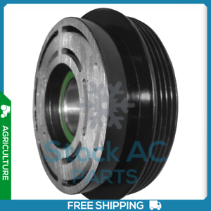 Details about BRAND NEW A/C COMPRESSOR PULLEY 4GROOVES FITS:TRACTOR  CASE/NEW HOLLAND CM133003