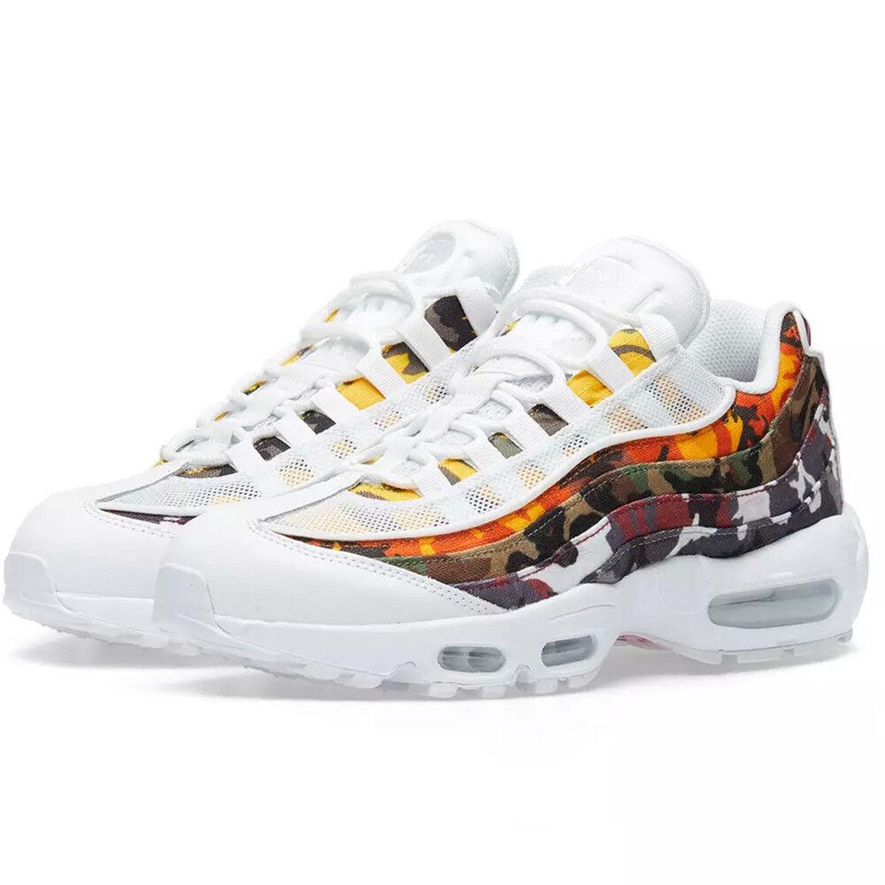 Nike Air Max 95 ERDL Party Weiß Mehrfarbige Sneakers mit Tarnmuster AR4473-100