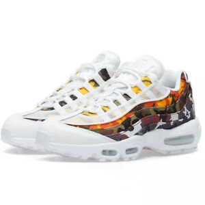 sports shoes 632fa a01b3 Image is loading Nike-Mens-Air-Max-95-ERDL-Party-White-