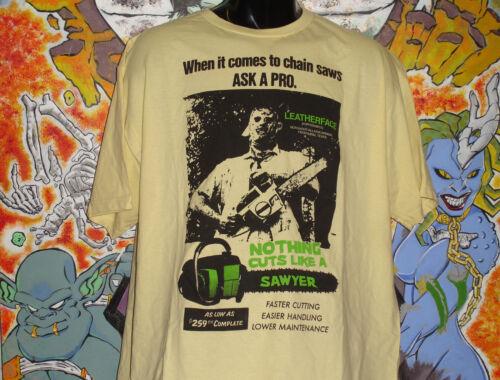 "Texas Chainsaw Massacre /""Cuts Like../"" shirt Leatherface Choptop Horror"
