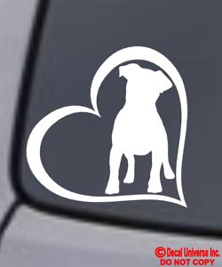 JACK RUSSELL TERRIER DOG Vinyl Decal Sticker Window Wall Bumper Animal Love Oval
