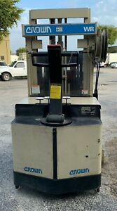 Forklift-by-CROWN-Model-20WRTL-S-2000-lb-with-load-unit-Good-Condition