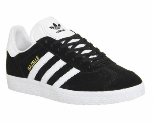 Men's Adidas Gazelle OG Classic Trainers Sneakers Casuals Black