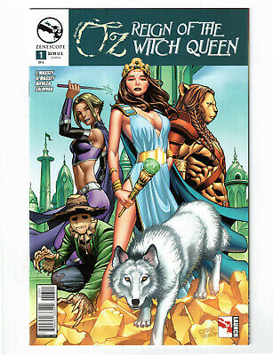 Oz Reign of the Witch Queen #5 5B cover ~ Zenescope