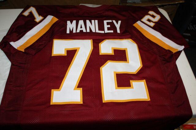 DEXTER MANLEY #72 CUSTOM JERSEY SIZE XL SUPER BOWL CHAMP XLG | eBay