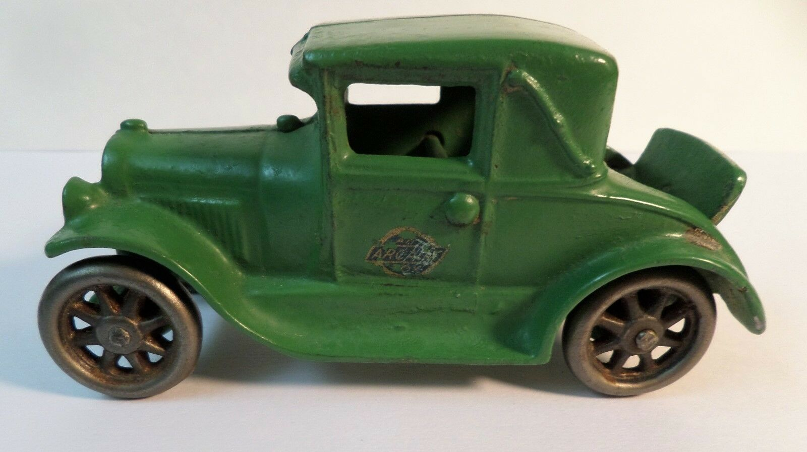ORIGINAL verde ARCADE  116 CAST IRON CAR MODEL A FORD COUPE w  RUMBLE SEAT