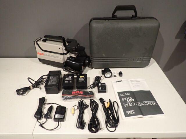 Vintage Rca Hq Vhs Video Camcorder Cc286 For Parts Only For Sale Online Ebay