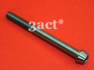 1 pcs Ti Bolt M6 x 65mm Taper Head Titanium Bolt