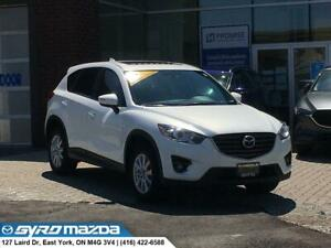 2016 Mazda CX-5 GS GS FWD FAMILY SUV! NAVIGATION, BACK-UP CAM...