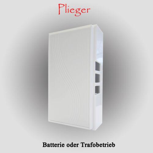 Batterie möglich Türklingel Gong Schelle Plieger Haustürschelle Klingeltrafo o