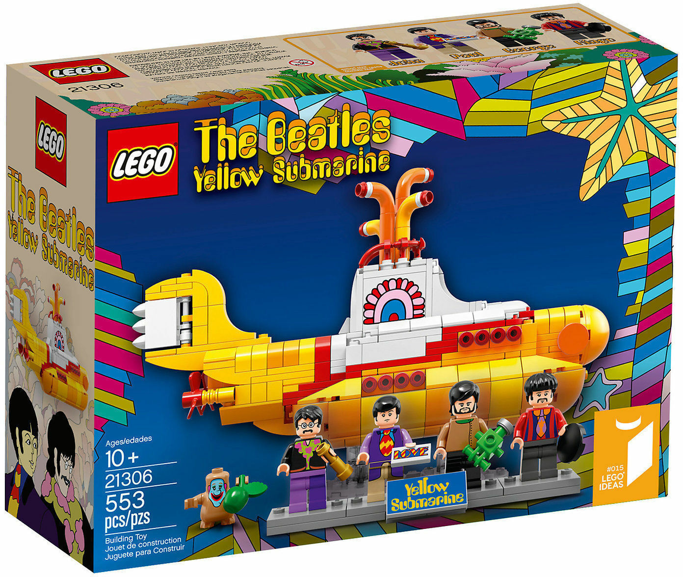 LEGO LEGO LEGO 21306 THE BEATLES Gelb SUBMARINE IDEAS e54608