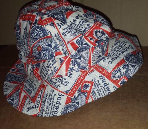 neuf coloré Budweiser Crusher//chapeau