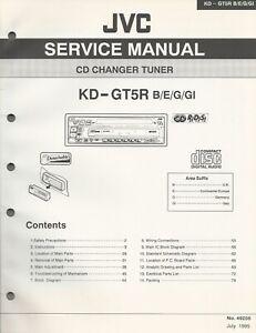 Serviceunterlagen - JVC - KD-GT5R - 90 Seiten - 1995 - Rednitzhembach, Deutschland - Serviceunterlagen - JVC - KD-GT5R - 90 Seiten - 1995 - Rednitzhembach, Deutschland
