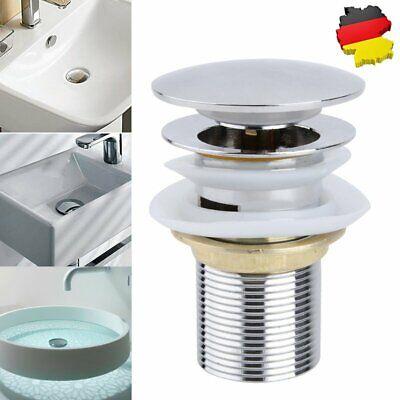Pop Up Ventil Waschbecken : de ablaufgarnitur pop up abfluss ablauf ventil ~ Watch28wear.com Haus und Dekorationen