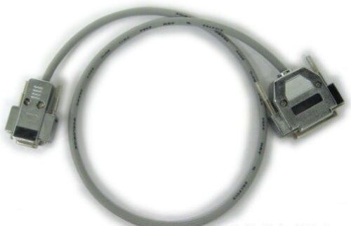 CNC DNC 15 ft Fanuc Fadal RS232 Serial Cable DB9 Female to DB25 Male