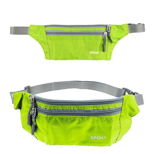 Herren Damen Bauchtasche Outdoor Bag Hüfttasche Gürteltasche Sport Lauftasche