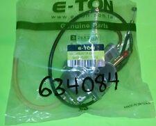 Eton 634084 Two Stroke Manual Choke Carburetor & Cable E-ton 50cc 70cc 90cc ATVs