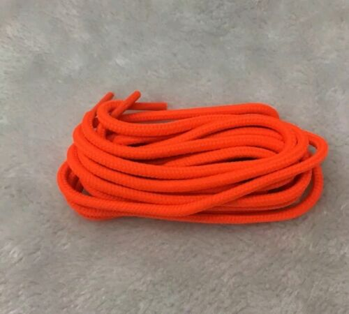 ROUND Athletic Sport Hiking Work Boot Sneaker SHOELACE 36 45 54 shoe lace string