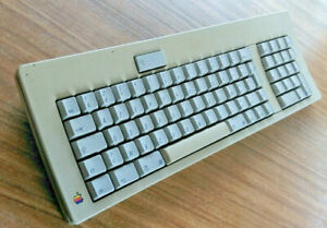 tested-vintage-m0118-apple-keyboard-adb-for-mac-se-French